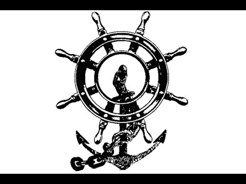 Drawn anchor ship wheel Ship Sea Wheel YouTube Unsubscribe