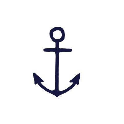 Drawn anchor small  ideas anchor Navy anchor