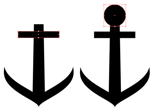 Drawn anchor step by step Part Adobe Pattern Create Illustrator
