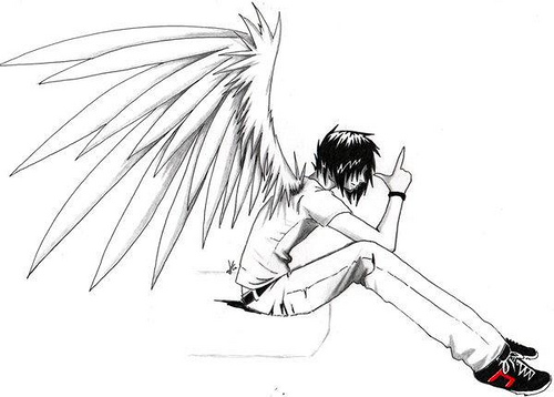 Drawn angel My Lawliet this angel hand