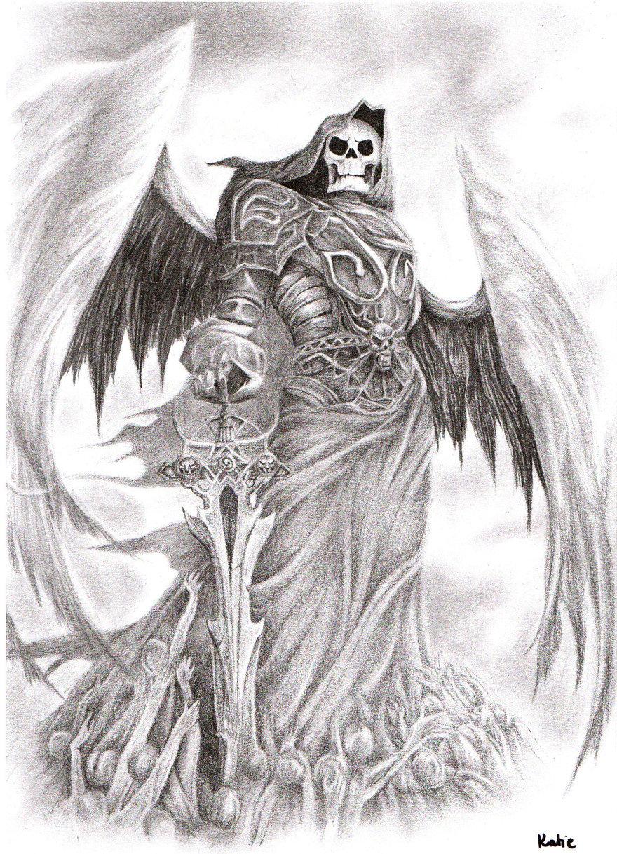 Drawn katana death #9