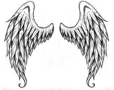 Drawn angel angel wing Wings Angel Pinterest on Angel