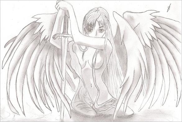 Drawn angel angel wing Wings Fabulous Premium & Angel