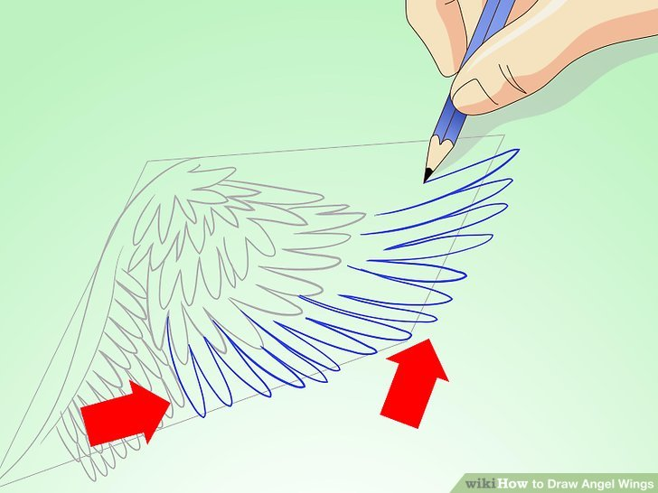 Drawn angel angel wing Pictures) to Image 14 Wings:
