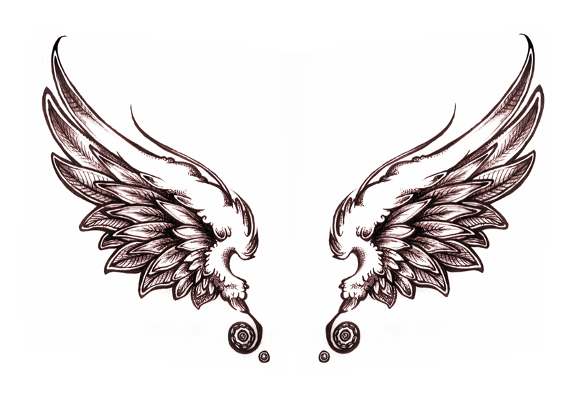 Drawn angel big wing Tattoo Design Design Photos Pictures