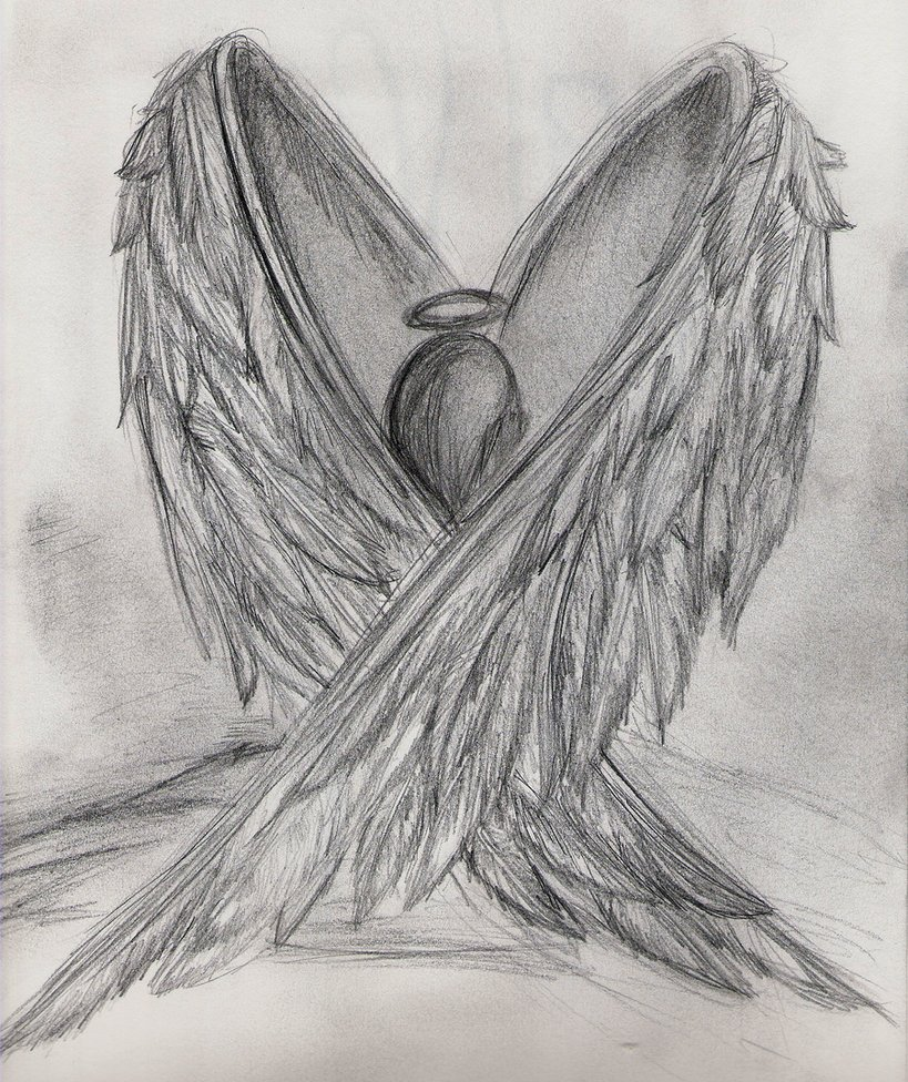 Drawn angel broken angel Google broken drawing Search angel