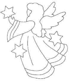 Drawn angel christmas angel #14