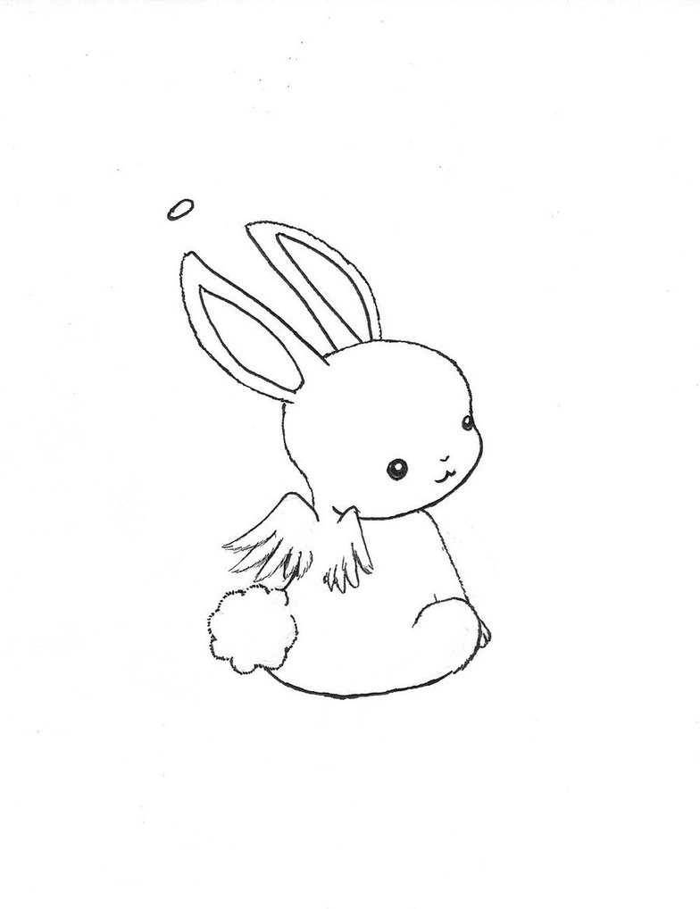 Drawn rodent basic Bunny drawing ~Escargotgirl Kawaii by