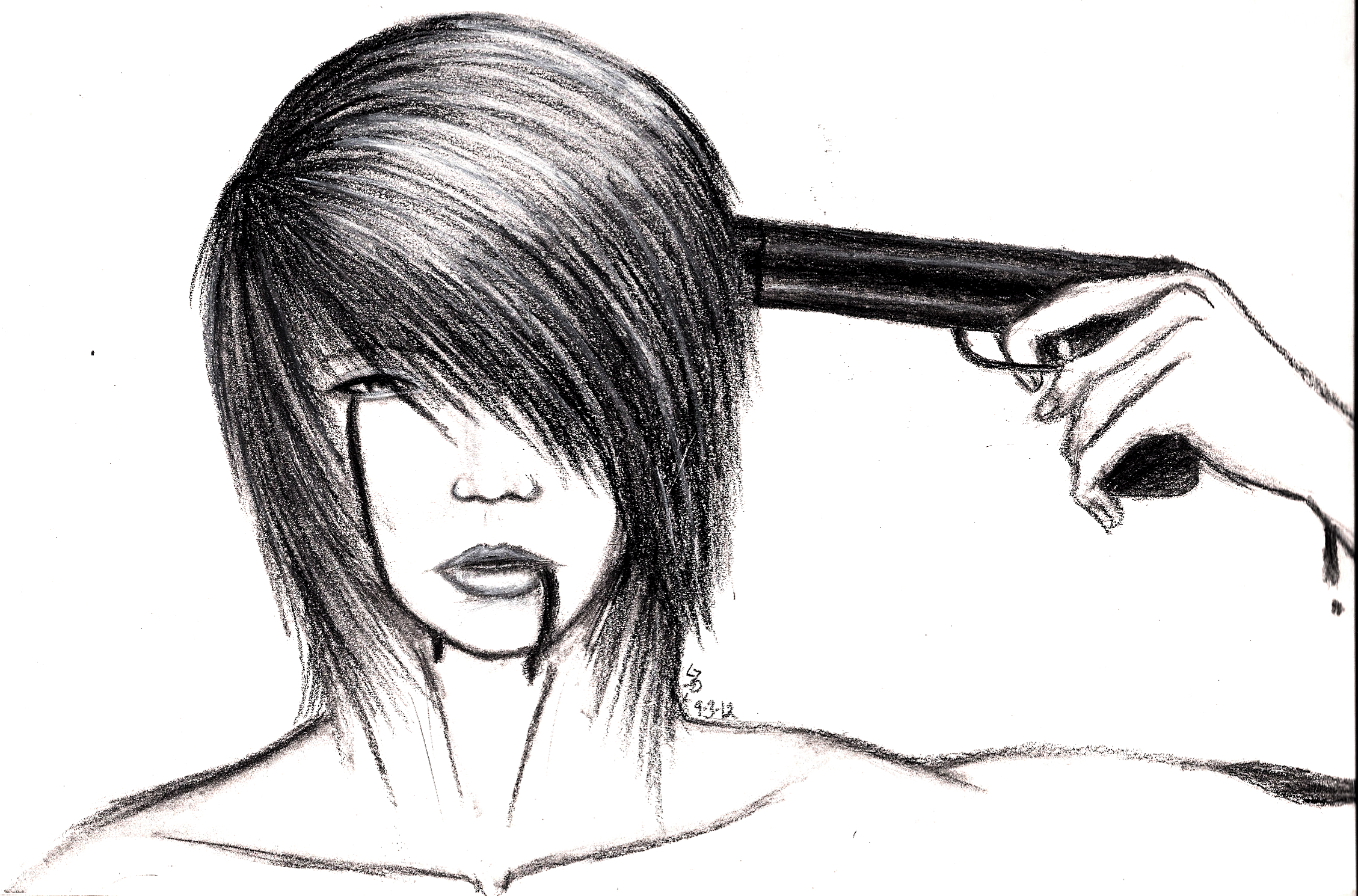 Drawn photos depression The by on Depressing End
