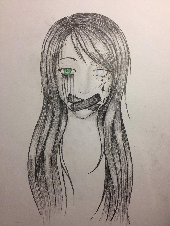 Drawn photos depression Depression Search depression Pinterest Drawings