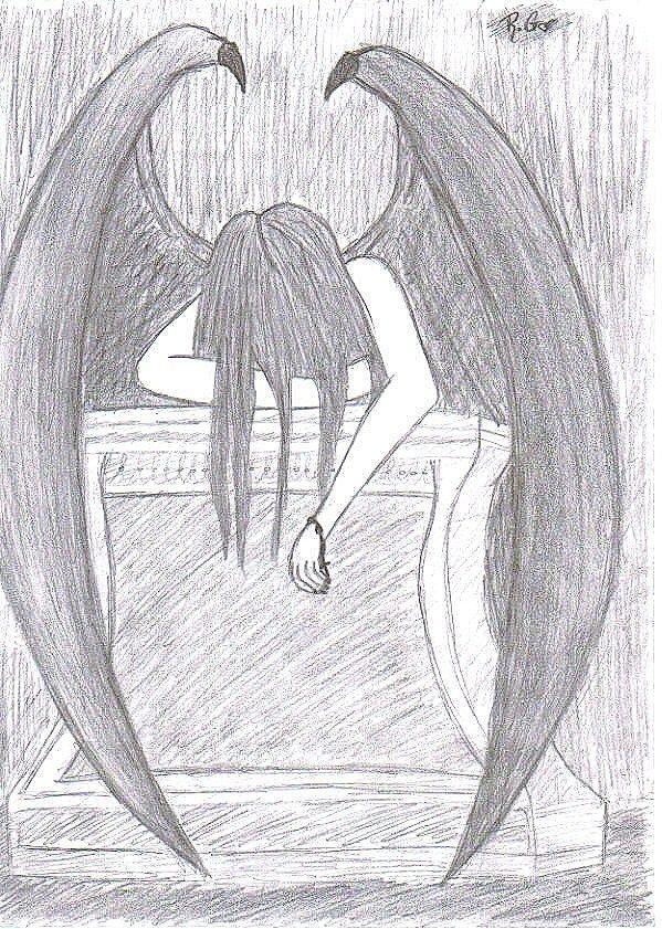 Drawn angel easy draw #5