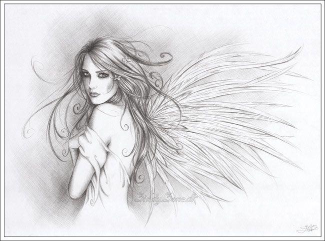 Drawn angel easy draw #9