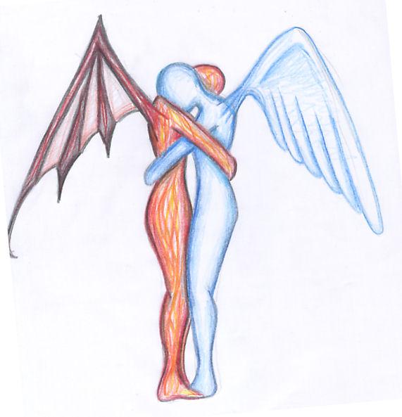 Drawn angel easy draw #13