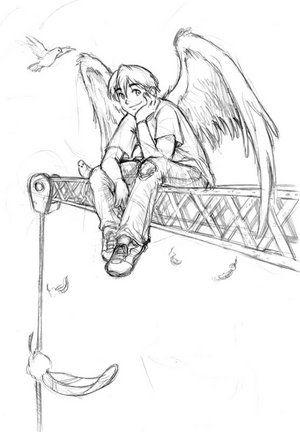 Drawn angel easy draw #3