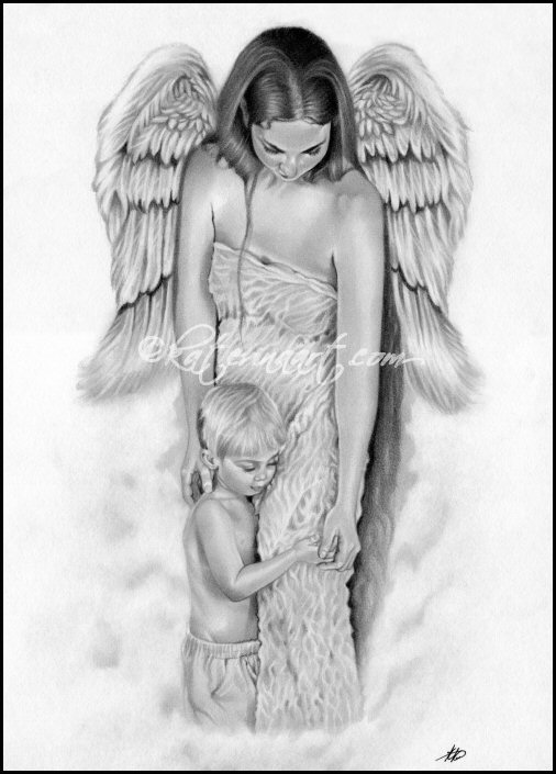 Drawn angel guardian angel Koukiotis Artwork Of Angel Of