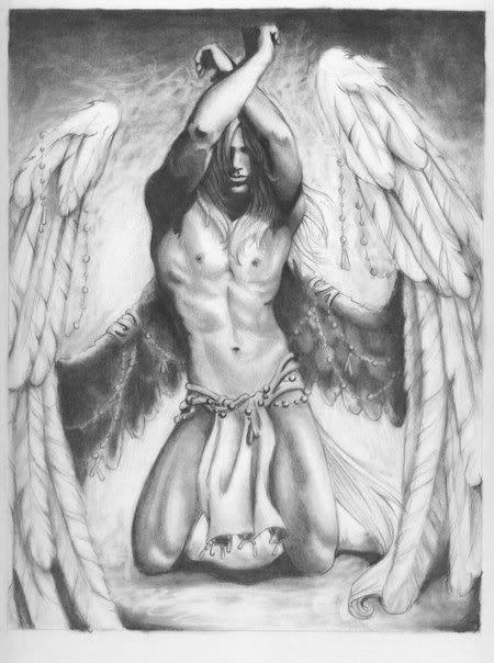 Drawn angel guardian angel Images best angel Gothic Legend
