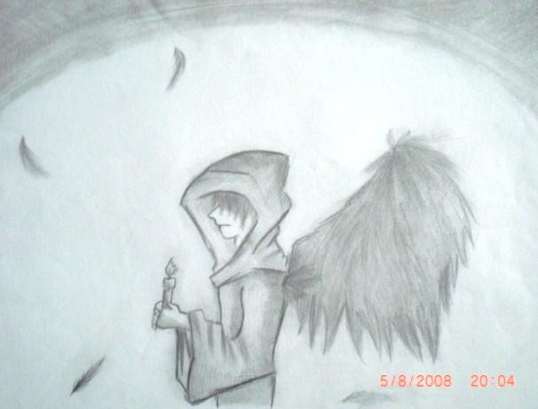 Drawn angel guy Guy mefryux: drawings anime anime