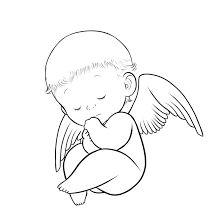 Drawn angel guy  angel for Free baby