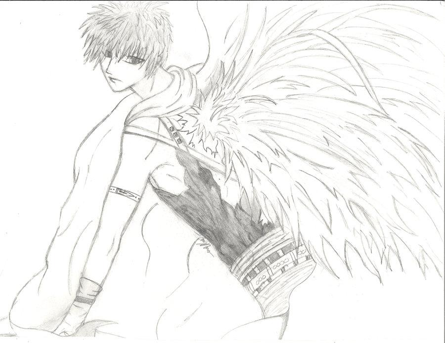 Drawn angel guy Www media com jpg drawings