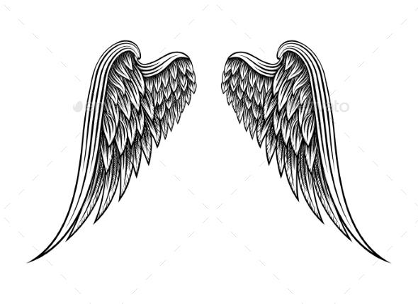 Drawn angel hand drawn #4