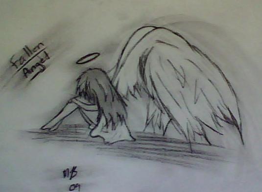 Drawn angel hand drawn #3