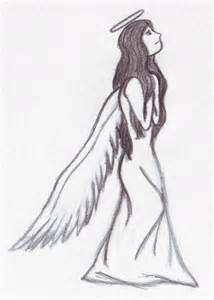 Drawn angel happy #14