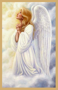 Drawn angel heaven Your neglect protect May respect
