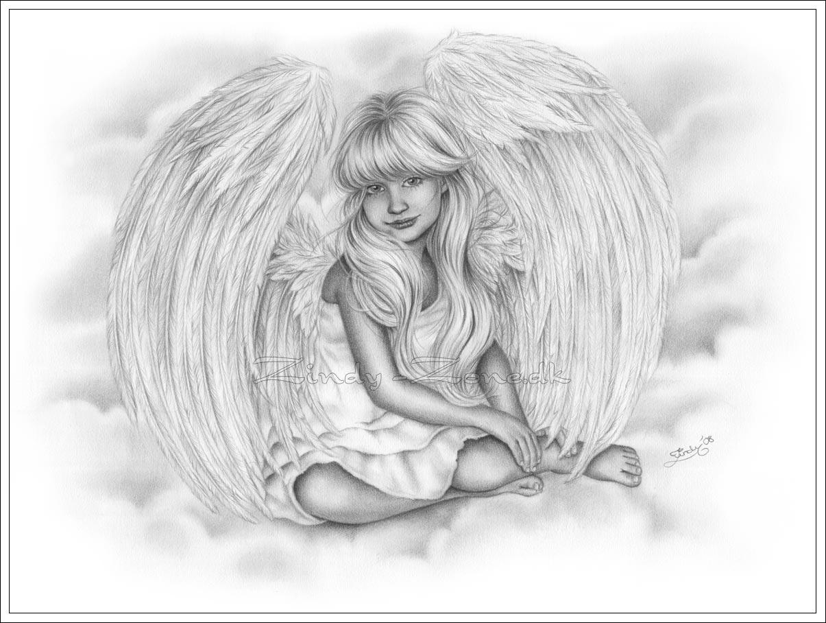 Drawn angel little angel #5