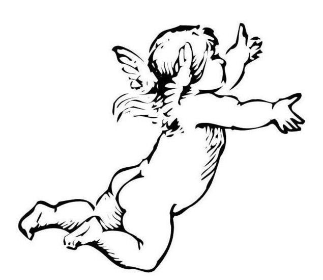 Drawn angel little angel #8