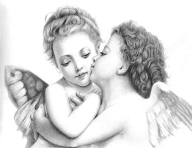 Drawn angel little angel #6