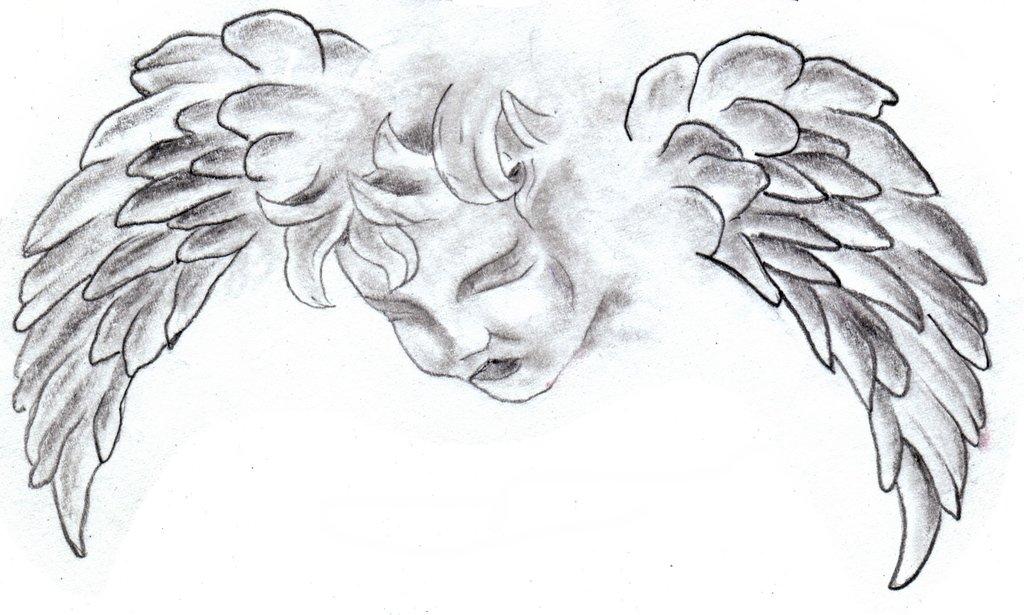 Drawn angel little angel #2