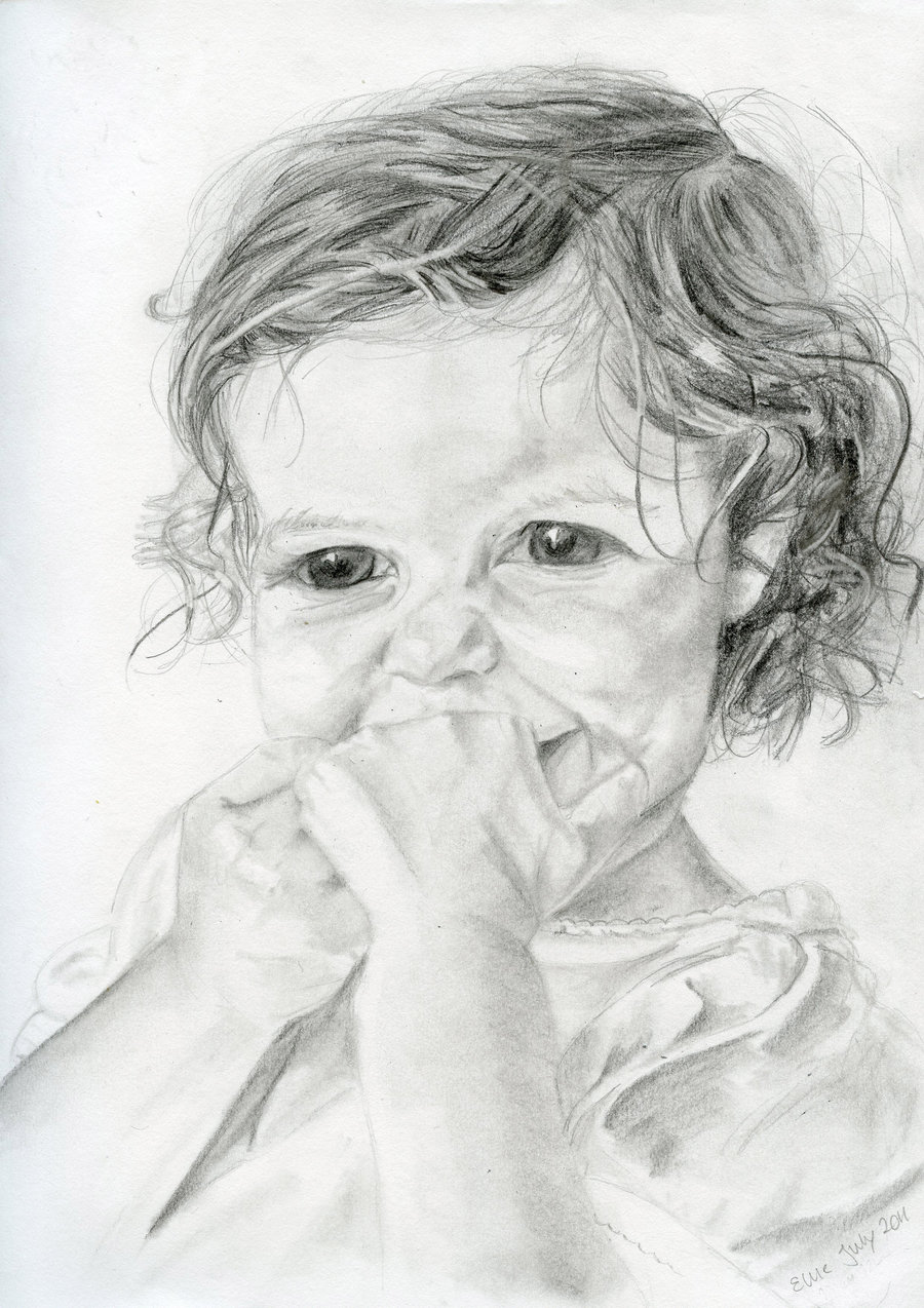 Drawn angel little angel Drawing Drawing Little mkmars by