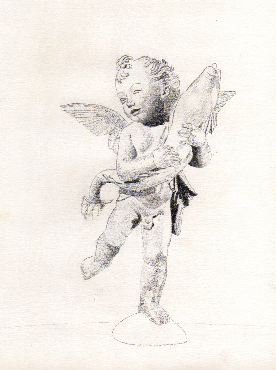 Drawn angel little angel #9
