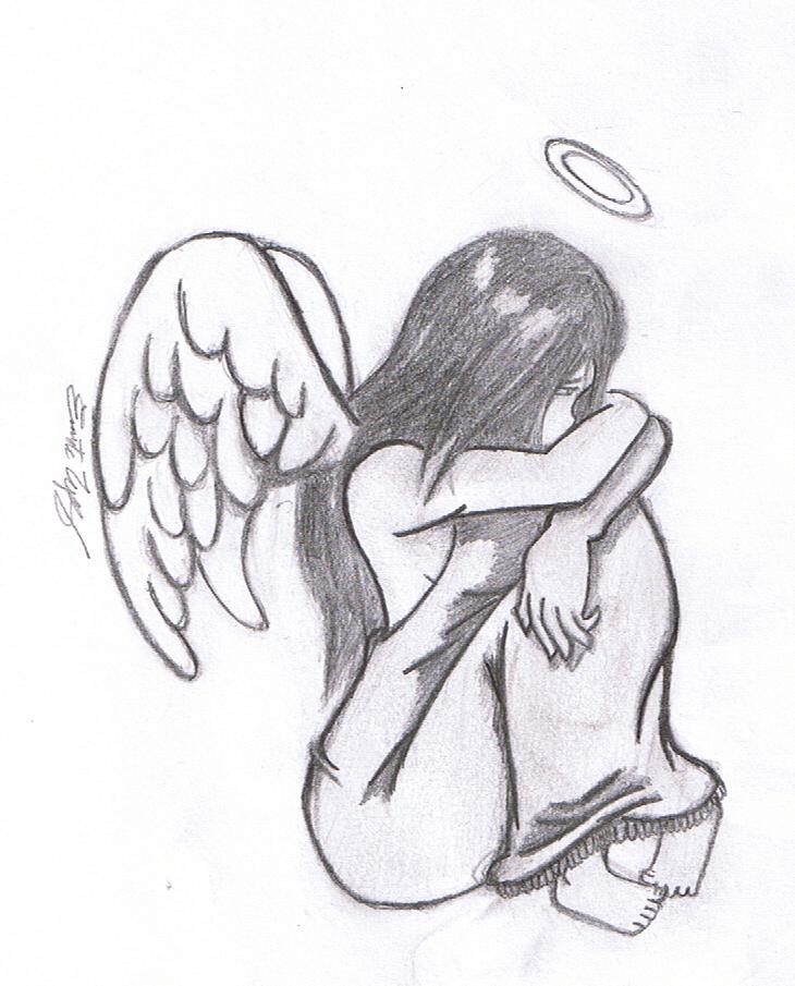 Drawn angel little angel #11