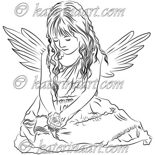 Drawn angel little angel #15