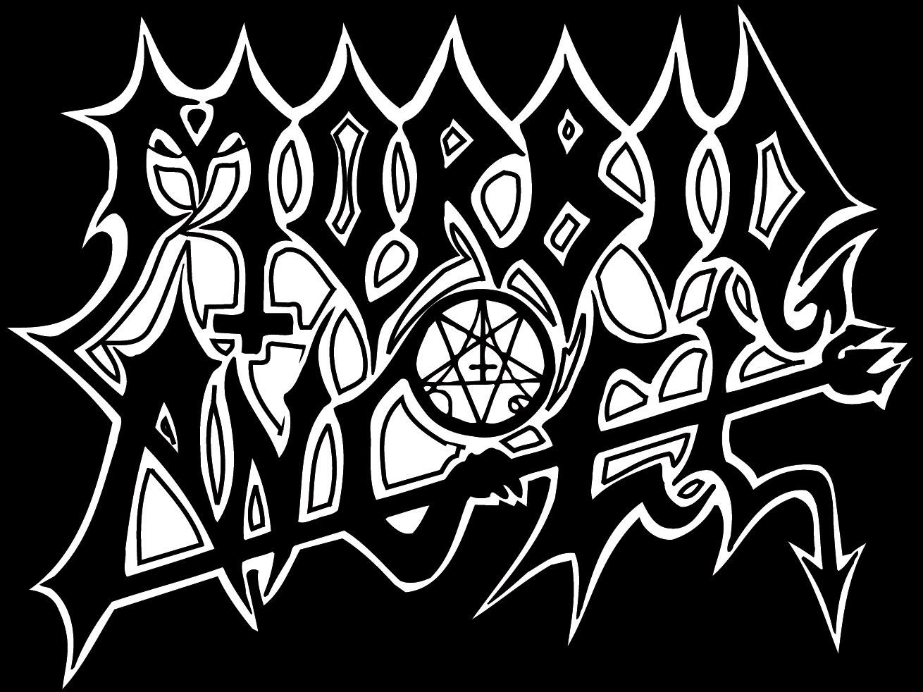 Drawn angel logo #11