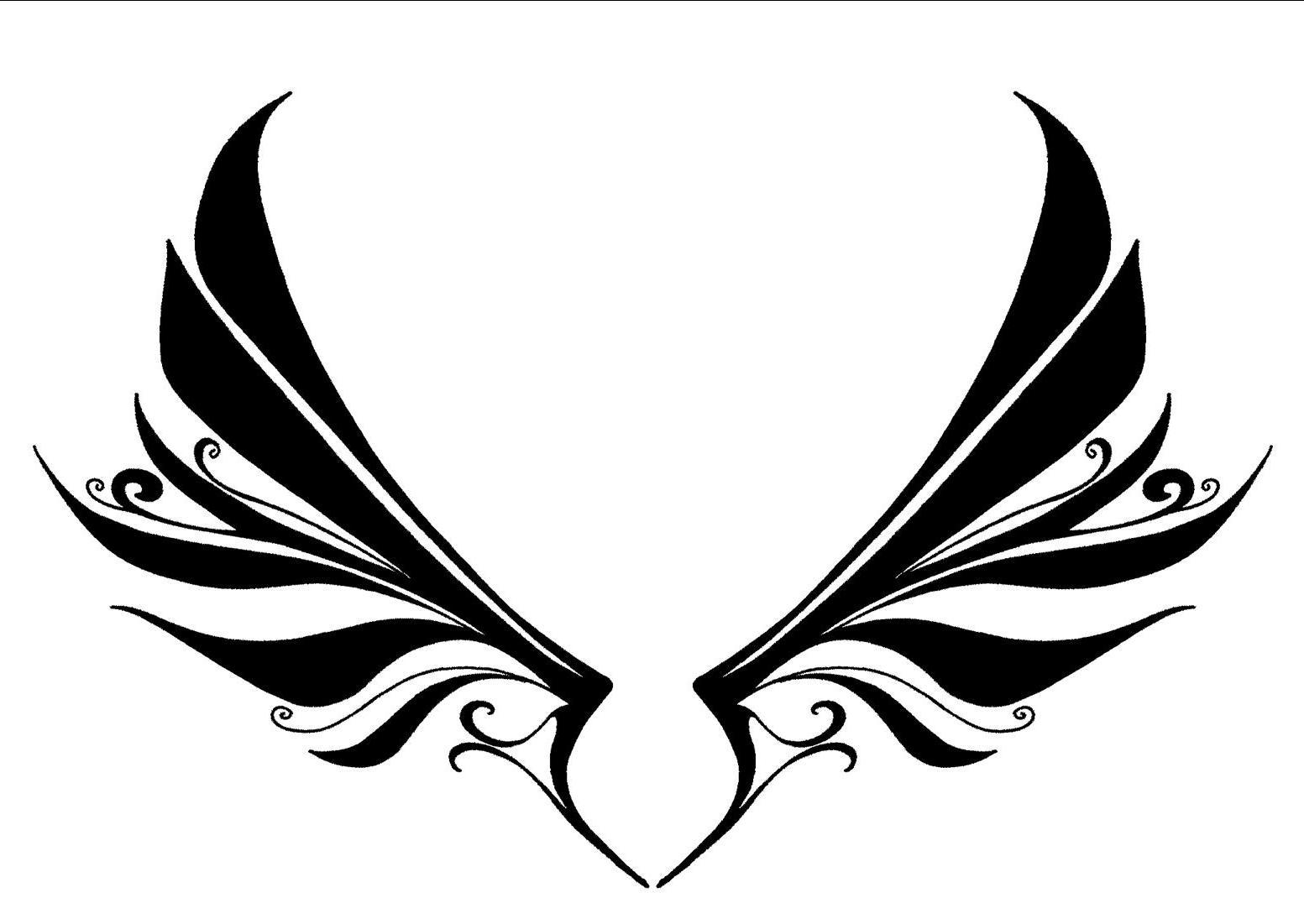 Drawn angel logo #8