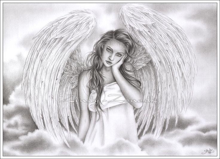 Drawn elfen pretty angel #1