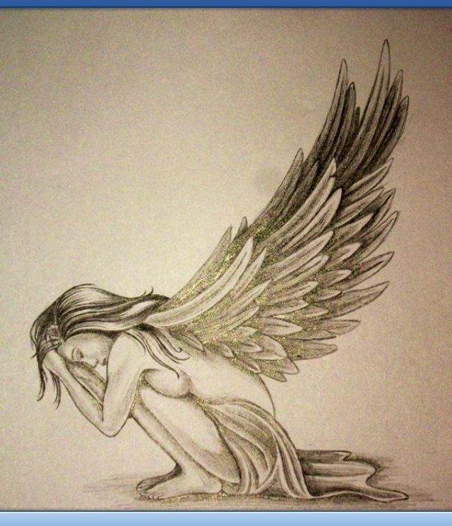 Drawn elfen pretty angel #2