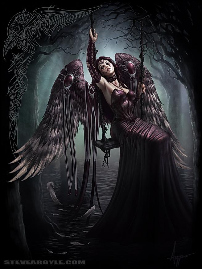 Drawn angel sadness Angel 6 254 254 by