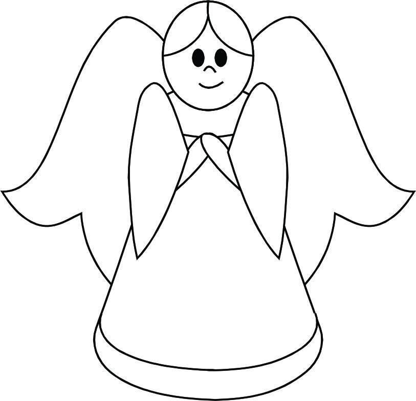 Clipart (28+) Simple simple angel