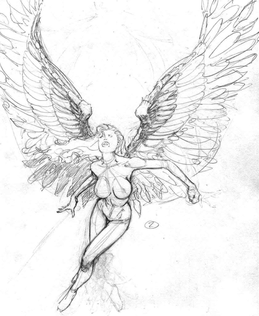 Drawn angel sketched More http://www php?85645  Pin