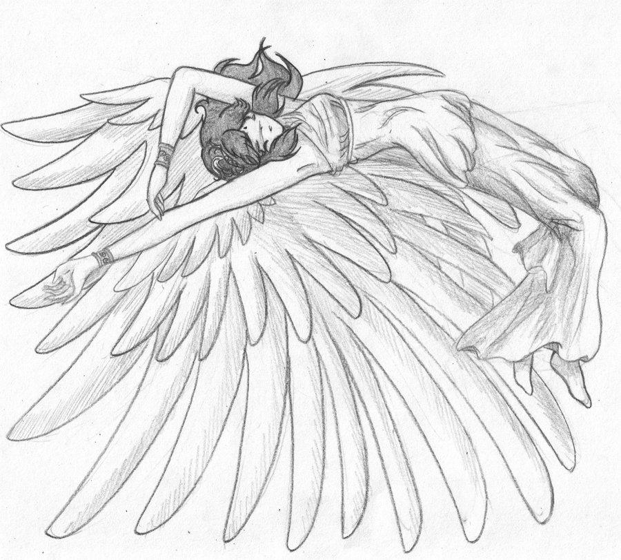Drawn angel sketched Sketch by Sketch on 13