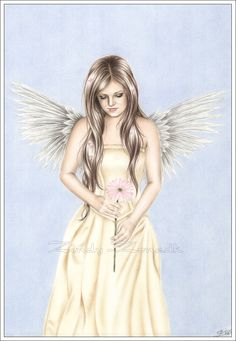 Drawn angel zone Drawings Summer's Zindy zone and