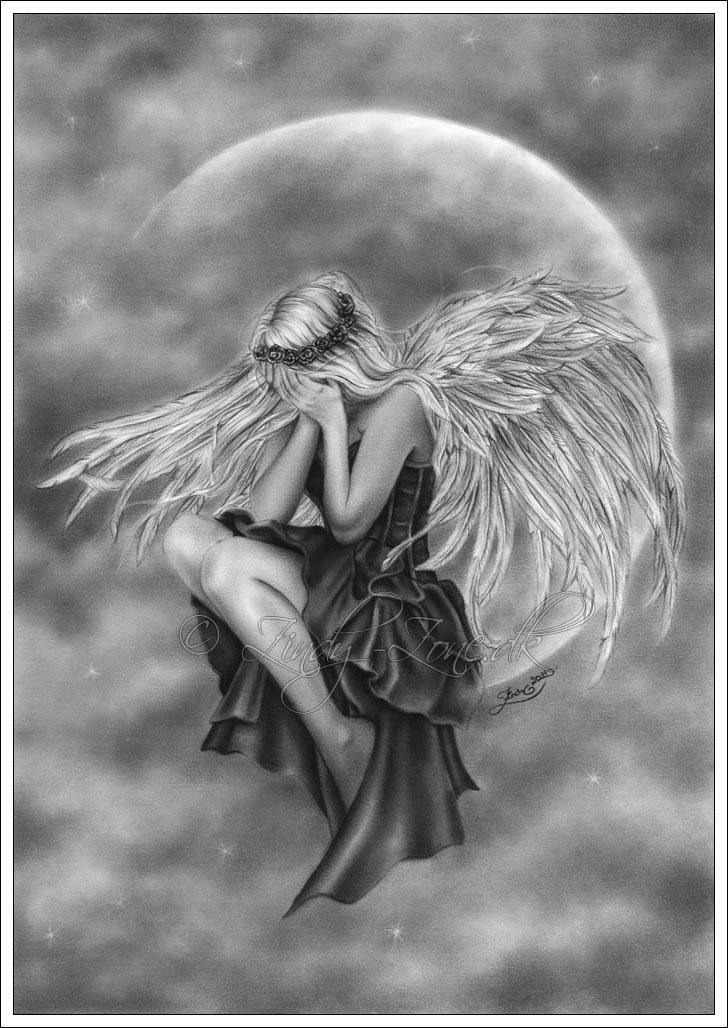 Drawn angel zone Drawings Crying Original dk Angel
