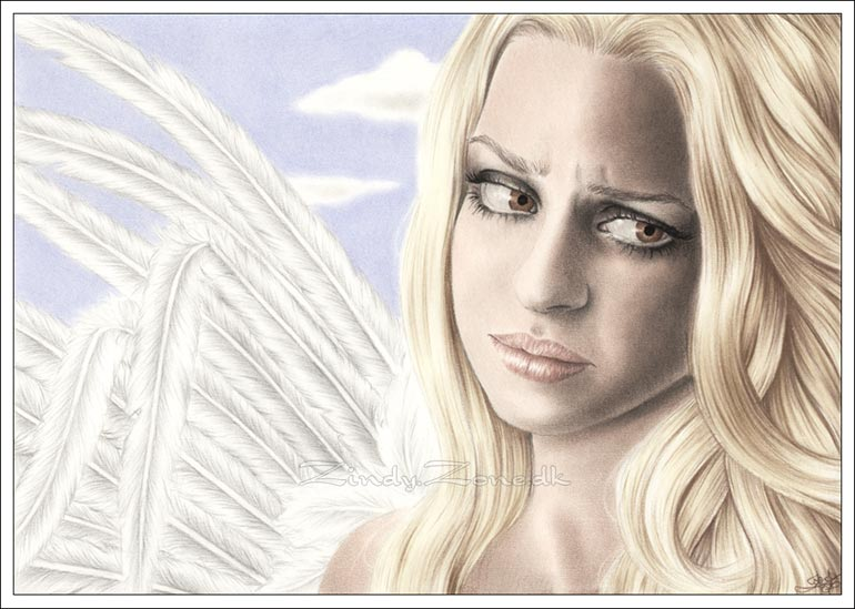 Drawn angel zone Zone Light Zindy Broken Angel