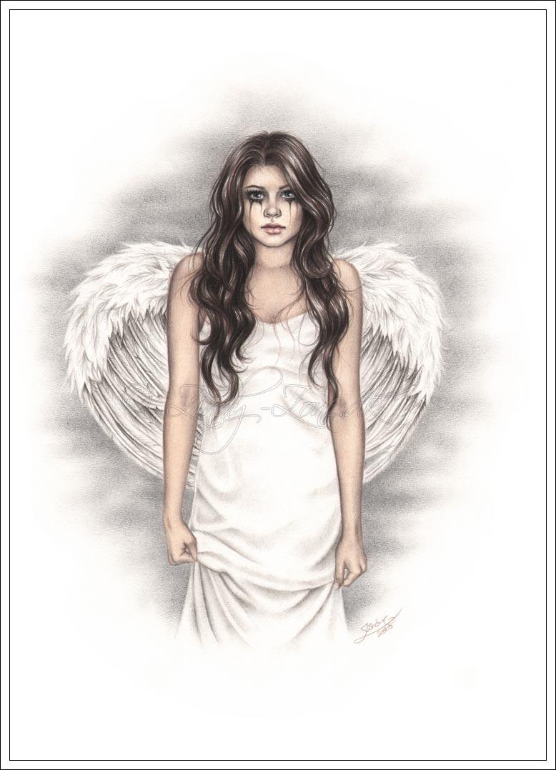 Drawn angel zone The Walk Angels Angels Fantasy