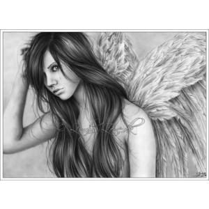 Drawn angel zone Dk Fantasy Fantasy Polyvore Zindy