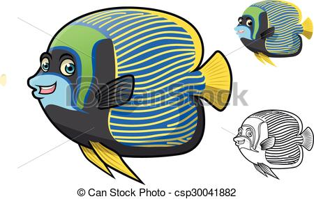 Angelfish clipart little fish Angel Angel High Quality Emperor