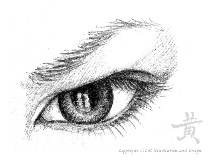 Drawn anger Lil el 1 art Eye